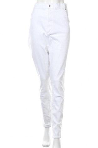 Γυναικείο παντελόνι Dr. Denim, Μέγεθος 4XL, Χρώμα Λευκό, 98% βαμβάκι, 2% ελαστάνη, Τιμή 19,18€