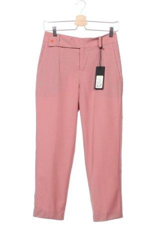 Дамски панталон Drykorn for beautiful people, Размер XS, Цвят Розов, 60% памук, 40% ацетат, Цена 65,68лв.