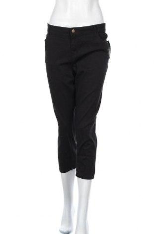 Γυναικείο παντελόνι Emerson, Μέγεθος XL, Χρώμα Μαύρο, Βαμβάκι, ελαστάνη, Τιμή 22,21€