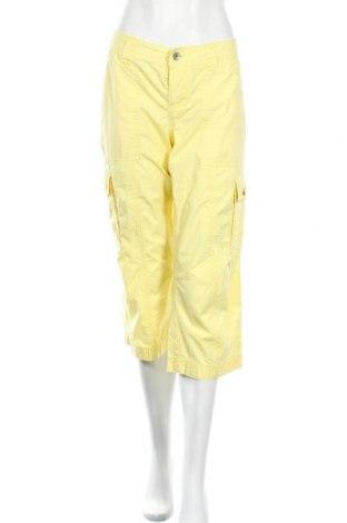 Дамски панталон Esprit, Размер M, Цвят Жълт, Памук, Цена 6,04лв.