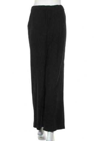 Дамски панталон Evans, Размер XL, Цвят Черен, 73% вискоза, 27% лен, Цена 13,85лв.