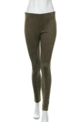 Pantaloni de femei Free Quent, Mărime S, Culoare Verde, 90% poliester, 10% elastan, Preț 34,93 Lei