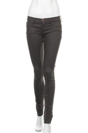 Дамски панталон Gas, Размер M, Цвят Кафяв, 64% памук, 32% полиестер, 4% еластан, Цена 29,40лв.