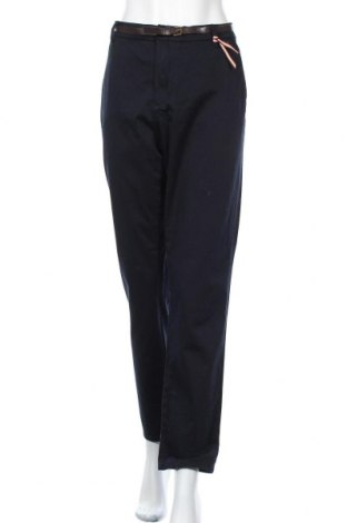 Γυναικείο παντελόνι Holly & Whyte By Lindex, Μέγεθος XL, Χρώμα Μπλέ, 98% βαμβάκι, 2% ελαστάνη, Τιμή 16,01€