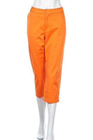 Γυναικείο παντελόνι Holly & Whyte By Lindex, Μέγεθος M, Χρώμα Πορτοκαλί, 97% βαμβάκι, 3% ελαστάνη, Τιμή 14,81€