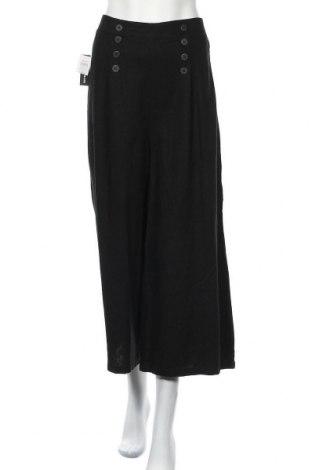 Дамски панталон Jay Jays, Размер XL, Цвят Черен, 55% лен, 45% вискоза, Цена 53,87лв.
