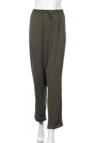 Γυναικείο παντελόνι Khoko, Μέγεθος XL, Χρώμα Πράσινο, Πολυεστέρας, Τιμή 9,55€