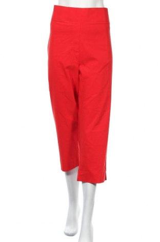 Γυναικείο παντελόνι Khoko, Μέγεθος XXL, Χρώμα Κόκκινο, Βισκόζη, πολυαμίδη, ελαστάνη, Τιμή 18,51€