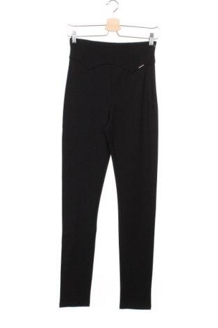 Дамски панталон Liu Jo, Размер XS, Цвят Черен, 60% вискоза, 35% полиамид, 5% еластан, Цена 81,12лв.