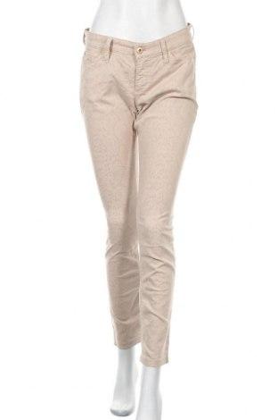 Дамски панталон Mac, Размер M, Цвят Бежов, 66% памук, 32% полиамид, 2% еластан, Цена 18,90лв.