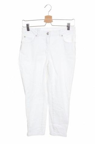 Γυναικείο παντελόνι Madeleine, Μέγεθος S, Χρώμα Λευκό, 98% βαμβάκι, 2% ελαστάνη, Τιμή 24,12€