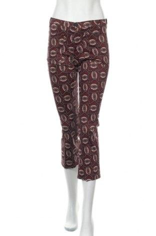 Дамски панталон Mango, Размер S, Цвят Червен, 97% памук, 3% еластан, Цена 6,18лв.