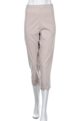 Дамски панталон Noni B, Размер XL, Цвят Сив, Вискоза, полиамид, еластан, Цена 24,57лв.