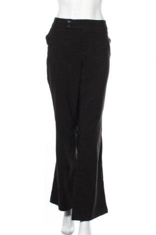 Дамски панталон Now, Размер XL, Цвят Черен, Полиестер, вискоза, еластан, Цена 18,90лв.