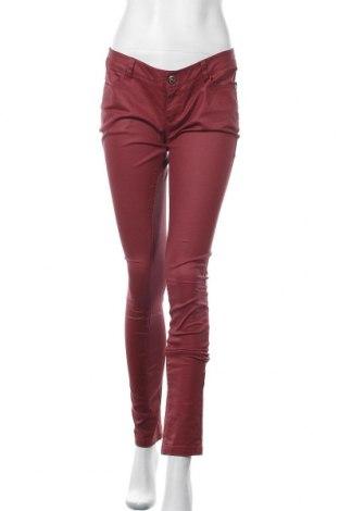 Дамски панталон ONLY, Размер M, Цвят Червен, 98% памук, 2% еластан, Цена 6,30лв.