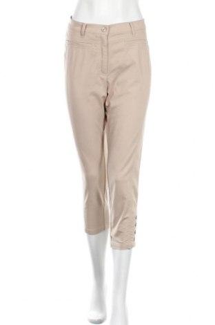 Дамски панталон Rabe, Размер M, Цвят Бежов, 61% памук, 36% полиестер, 3% еластан, Цена 20,16лв.