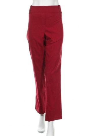 Дамски панталон Reitmans, Размер XL, Цвят Червен, 73% вискоза, 24% полиамид, 3% еластан, Цена 8,66лв.