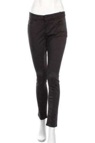 Γυναικείο παντελόνι S.Oliver, Μέγεθος L, Χρώμα Μαύρο, 58% βαμβάκι, 42% lyocell, Τιμή 28,66€