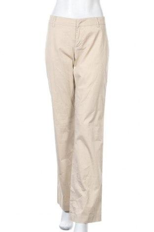 Dámské kalhoty  Stefanel, Velikost M, Barva Béžová, 98% bavlna, 2% elastan, Cena  280,00Kč