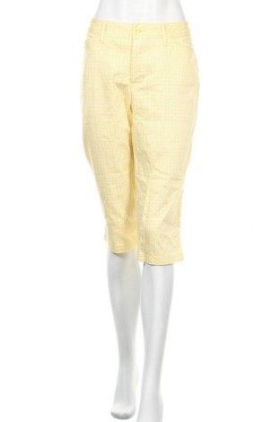Γυναικείο παντελόνι St. John's Bay, Μέγεθος M, Χρώμα Κίτρινο, 97% βαμβάκι, 3% ελαστάνη, Τιμή 18,70€