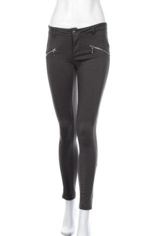 Дамски панталон Tally Weijl, Размер S, Цвят Сив, 70% полиестер, 24% вискоза, 6% еластан, Цена 6,83лв.