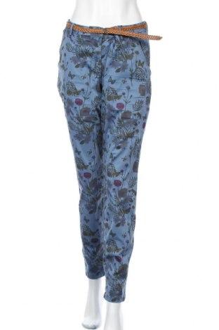 Γυναικείο παντελόνι Tom Tailor, Μέγεθος L, Χρώμα Μπλέ, 97% βαμβάκι, 3% ελαστάνη, Τιμή 27,69€