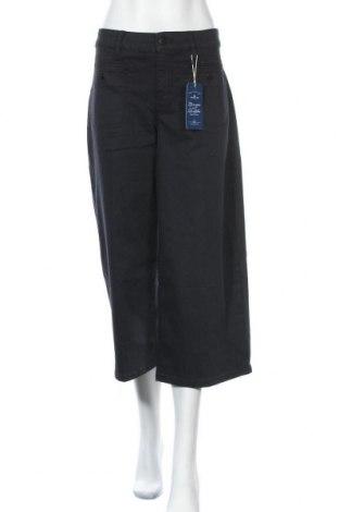 Γυναικείο παντελόνι Tom Tailor, Μέγεθος XL, Χρώμα Μαύρο, 69% βαμβάκι, 20% πολυεστέρας, 9% βισκόζη, 2% ελαστάνη, Τιμή 27,53€
