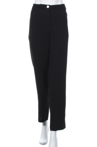 Дамски панталон Triangle By s.Oliver, Размер XXL, Цвят Черен, Полиестер, Цена 63,22лв.