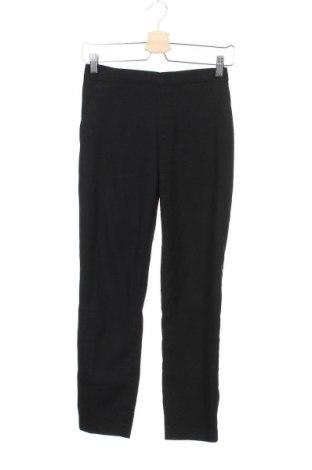 Дамски панталон Uniqlo, Размер XS, Цвят Черен, Цена 18,11лв.