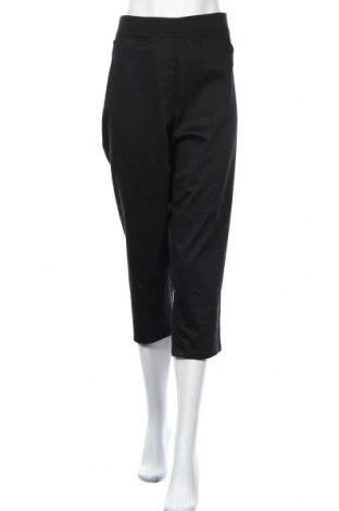 Γυναικείο παντελόνι W. Lane, Μέγεθος XXL, Χρώμα Μαύρο, Βαμβάκι, πολυεστέρας, ελαστάνη, Τιμή 13,64€