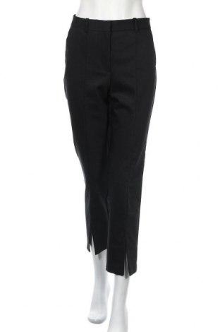 Дамски панталон Zara, Размер M, Цвят Черен, 52% памук, 45% полиестер, 3% еластан, Цена 33,92лв.