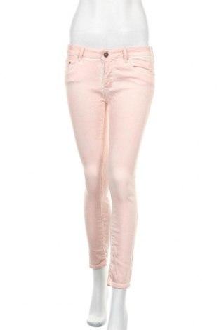 Γυναικείο παντελόνι Zara, Μέγεθος M, Χρώμα Ρόζ , 53% lyocell, 45% βαμβάκι, 2% ελαστάνη, Τιμή 7,52€