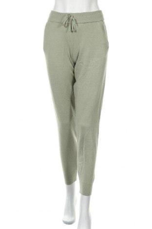 Pantaloni de femei Zara, Mărime S, Culoare Verde, 52% viscoză, 28% poliester, 20% poliamidă, Preț 120,89 Lei