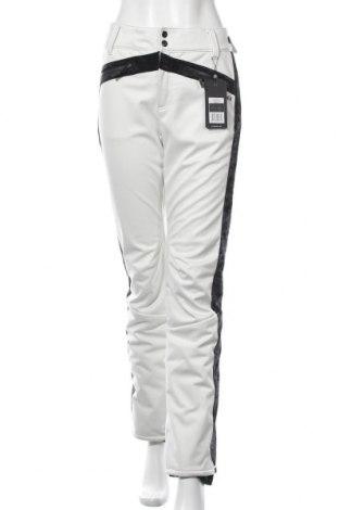Дамски панталон за зимни спортове Chiemsee, Размер L, Цвят Екрю, Полиестер, Цена 80,55лв.