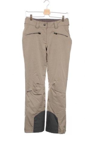 Дамски панталон за зимни спортове Ziener, Размер XS, Цвят Бежов, Полиестер, Цена 44,00лв.