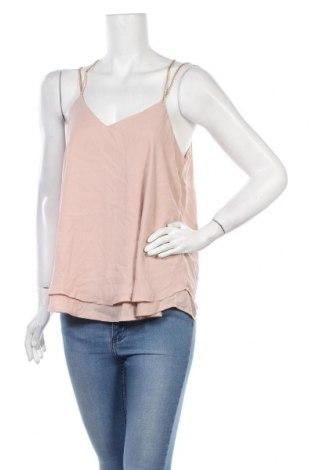 Γυναικείο αμάνικο μπλουζάκι Amisu, Μέγεθος M, Χρώμα Ρόζ , Πολυεστέρας, Τιμή 11,69€