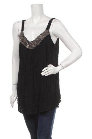 Γυναικείο αμάνικο μπλουζάκι Autograph, Μέγεθος M, Χρώμα Μαύρο, Βισκόζη, Τιμή 5,46€