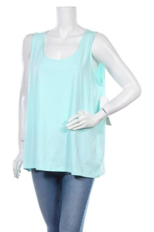 Γυναικείο αμάνικο μπλουζάκι Autograph, Μέγεθος XXL, Χρώμα Μπλέ, 98% βαμβάκι, 2% ελαστάνη, Τιμή 6,59€