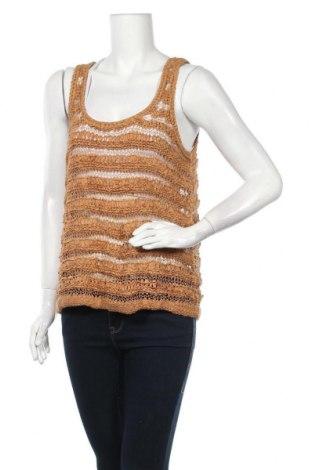 Γυναικείο αμάνικο μπλουζάκι Bardot, Μέγεθος M, Χρώμα Καφέ, 70%ακρυλικό, 30% πολυαμίδη, Τιμή 8,64€