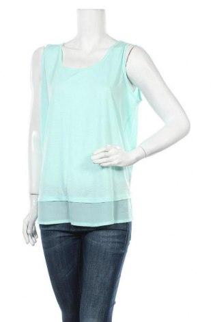 Γυναικείο αμάνικο μπλουζάκι Charles Vogele, Μέγεθος XL, Χρώμα Μπλέ, 65% πολυεστέρας, 35% βισκόζη, Τιμή 3,18€