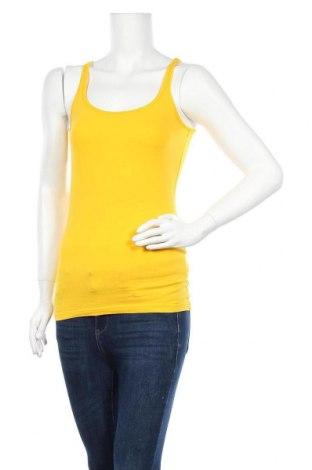 Дамски потник Colours Of The World, Размер S, Цвят Жълт, 95% памук, 5% еластан, Цена 8,03лв.