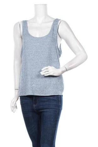 Γυναικείο αμάνικο μπλουζάκι Emerson, Μέγεθος L, Χρώμα Μπλέ, Πολυεστέρας, βισκόζη, Τιμή 18,70€