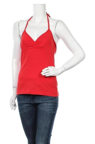 Дамски потник H&M, Размер S, Цвят Червен, 95% памук, 5% еластан, Цена 2,00лв.