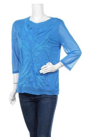 Γυναικεία μπλούζα Liz Jordan, Μέγεθος L, Χρώμα Μπλέ, Τιμή 10,52€