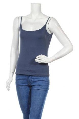 Γυναικείο αμάνικο μπλουζάκι Mexx, Μέγεθος M, Χρώμα Μπλέ, 95% πολυαμίδη, 5% ελαστάνη, Τιμή 8,83€