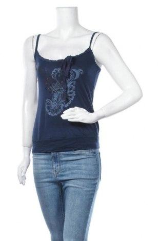 Γυναικείο αμάνικο μπλουζάκι Mexx, Μέγεθος S, Χρώμα Μπλέ, Μοντάλ, Τιμή 3,12€
