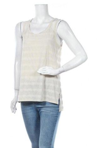 Γυναικείο αμάνικο μπλουζάκι Sisley, Μέγεθος M, Χρώμα  Μπέζ, Τιμή 10,39€