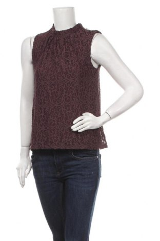 Γυναικείο αμάνικο μπλουζάκι Stockh Lm, Μέγεθος S, Χρώμα Κόκκινο, Πολυαμίδη, Τιμή 11,04€