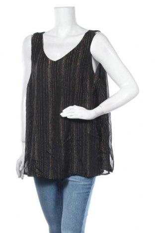 Γυναικείο αμάνικο μπλουζάκι Suzanne Grae, Μέγεθος XXL, Χρώμα Μαύρο, Πολυεστέρας, Τιμή 3,64€