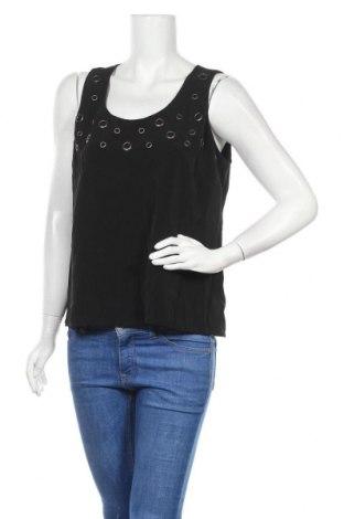 Γυναικείο αμάνικο μπλουζάκι Suzanne Grae, Μέγεθος M, Χρώμα Μαύρο, Πολυεστέρας, Τιμή 6,82€
